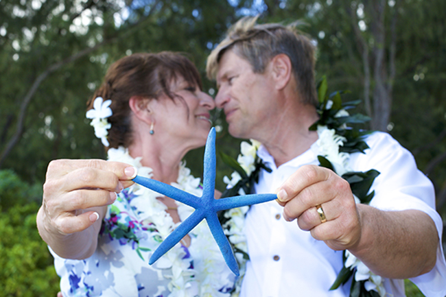 Here is a photo we did of a couple's 25 year vow renewal
