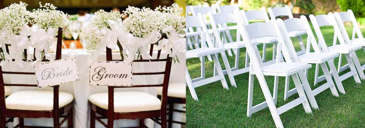 wooden chairs for weddings