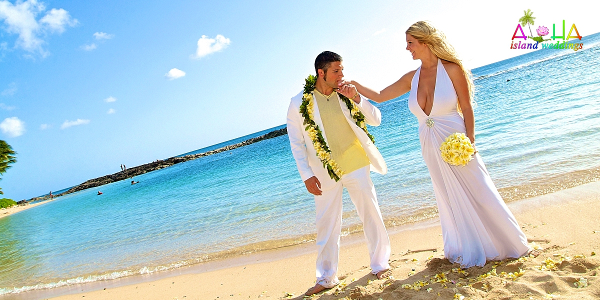 Hawaii beach weddings affordable hawaiian wedding packages junglespirit Images
