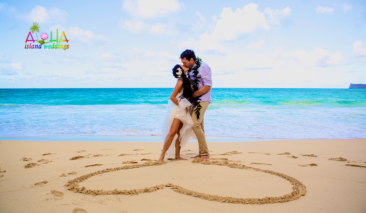 Wedding on the beach - In The Heart Of Love On The Beach In Hawaii We Promise To Love Forever And