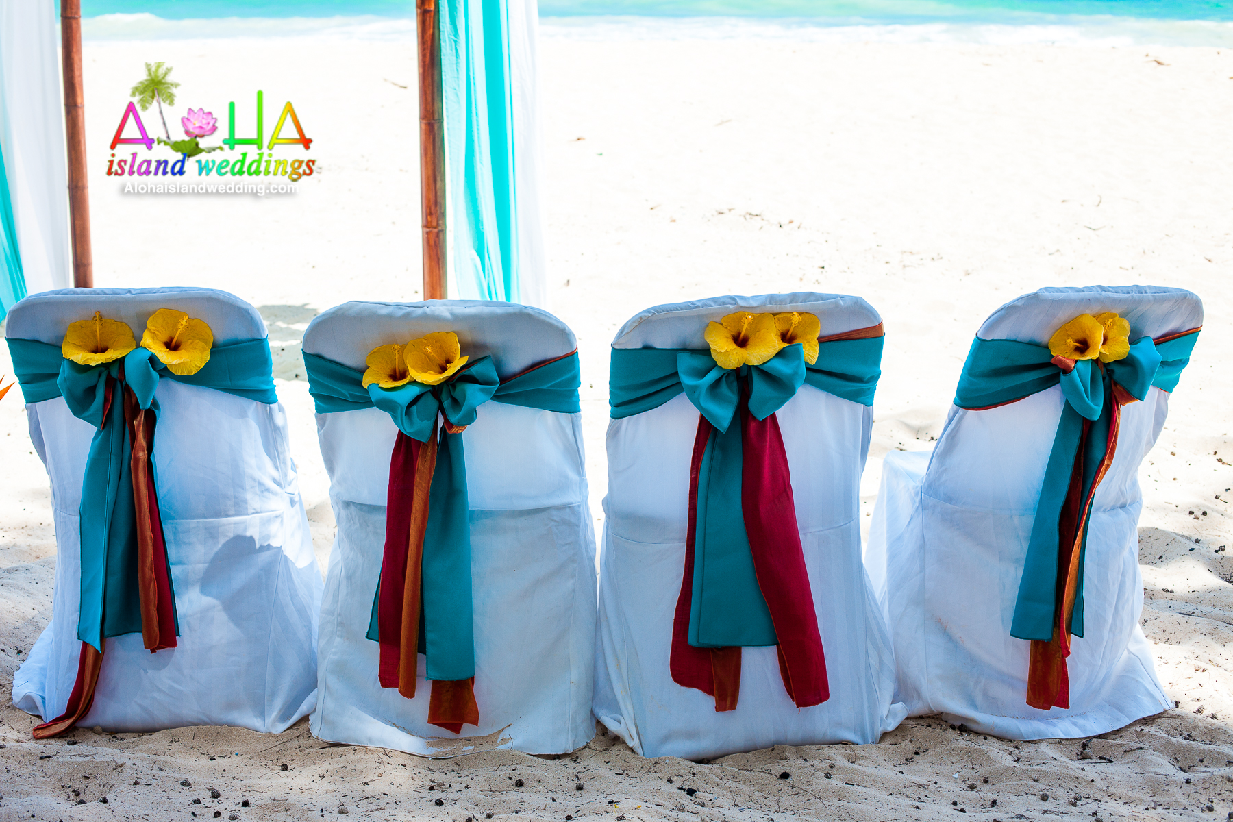 A C Hawaii Wedding Arch 3 15